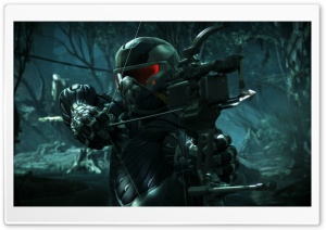 Crysis 3 - The hunted becomes the hunter HD Wide Wallpaper for Widescreen