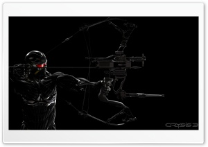 Crysis 3 Prophet and Predator Bow HD Wide Wallpaper for Widescreen