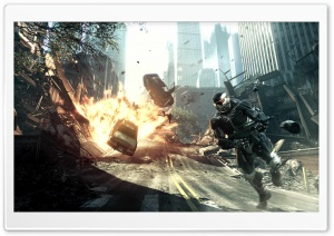 Crysis 2 HD Wide Wallpaper for Widescreen
