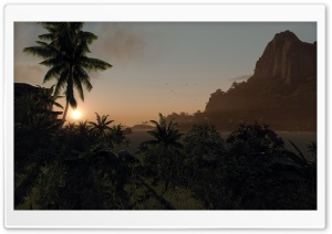 Crysis Island HD Wide Wallpaper for Widescreen
