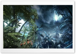 Crysis Jungle Environment HD Wide Wallpaper for Widescreen