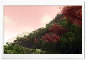 Crysis Sakura Hill HD Wide Wallpaper for Widescreen