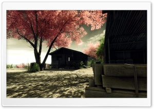 Crysis Screenshots Sakura HD Wide Wallpaper for Widescreen