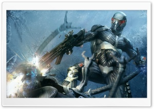 Crysis Shooter Video Game HD Wide Wallpaper for Widescreen