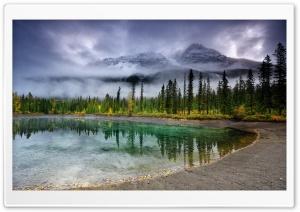Crystal Clear Water Lake, Mountain Landscape HD Wide Wallpaper for 4K UHD Widescreen desktop & smartphone