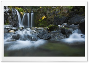 Crystal Creek Falls HD Wide Wallpaper for Widescreen