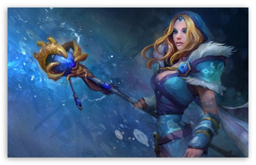Crystal Maiden Dota 2 ❤ 4K UHD Wallpaper for Wide 16:10 5:3 Widescreen WHXGA WQXGA WUXGA WXGA WGA ; 4K UHD 16:9 Ultra High Definition 2160p 1440p 1080p 900p 720p ; Mobile 5:3 16:9 - WGA 2160p 1440p 1080p 900p 720p ;