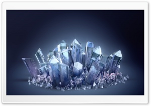 Crystals HD Wide Wallpaper for Widescreen