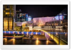 Crystals City Center HD Wide Wallpaper for 4K UHD Widescreen desktop & smartphone