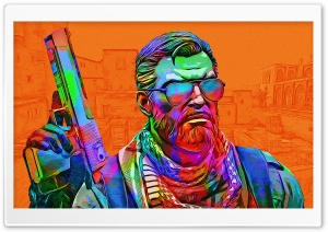 CSGO - Toxic - Orange Ultra HD Wallpaper for 4K UHD Widescreen desktop, tablet & smartphone