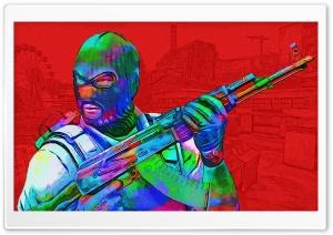 CSGO - Toxic - Red Ultra HD Wallpaper for 4K UHD Widescreen desktop, tablet & smartphone