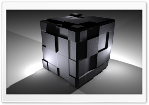 Cube 3D Ultra HD Wallpaper for 4K UHD Widescreen desktop, tablet & smartphone