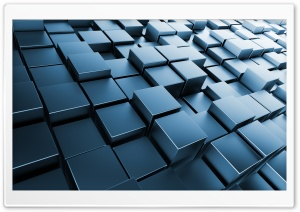 Cubes Ultra HD Wallpaper for 4K UHD Widescreen desktop, tablet & smartphone