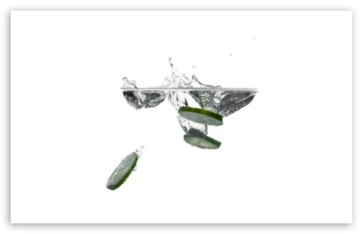 Cucumber Slices in Water UltraHD Wallpaper for Wide 16:10 5:3 Widescreen WHXGA WQXGA WUXGA WXGA WGA ; UltraWide 21:9 24:10 ; 8K UHD TV 16:9 Ultra High Definition 2160p 1440p 1080p 900p 720p ; UHD 16:9 2160p 1440p 1080p 900p 720p ; Standard 4:3 5:4 3:2 Fullscreen UXGA XGA SVGA QSXGA SXGA DVGA HVGA HQVGA ( Apple PowerBook G4 iPhone 4 3G 3GS iPod Touch ) ; Tablet 1:1 ; iPad 1/2/Mini ; Mobile 4:3 5:3 3:2 16:9 5:4 - UXGA XGA SVGA WGA DVGA HVGA HQVGA ( Apple PowerBook G4 iPhone 4 3G 3GS iPod Touch ) 2160p 1440p 1080p 900p 720p QSXGA SXGA ;