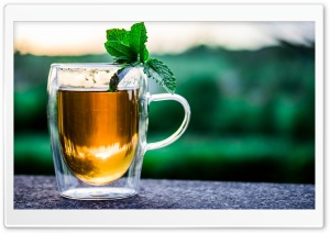 Cup Of Tea Outdoor HD Wide Wallpaper for Widescreen