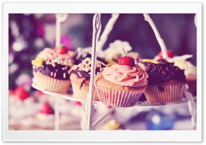 Cupcakes HD Wide Wallpaper for 4K UHD Widescreen desktop & smartphone