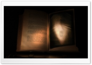 Cursed Book HD Wide Wallpaper for 4K UHD Widescreen desktop & smartphone