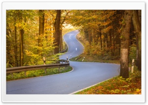 Curvy Road HD Wide Wallpaper for 4K UHD Widescreen desktop & smartphone