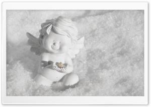 Cute Angel HD Wide Wallpaper for Widescreen