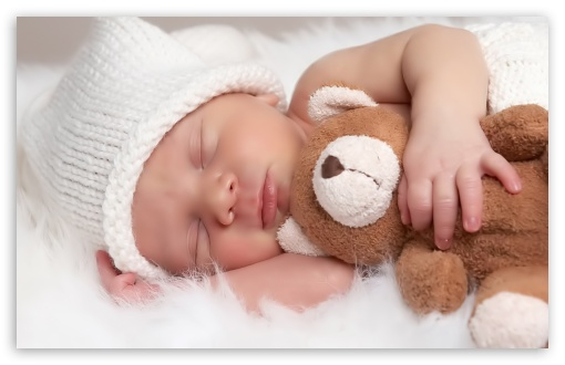 Cute Baby With Teddy Bear HD wallpaper for Wide 16:10 5:3 Widescreen WHXGA WQXGA WUXGA WXGA WGA ; HD 16:9 High Definition WQHD QWXGA 1080p 900p 720p QHD nHD ; Standard 4:3 3:2 Fullscreen UXGA XGA SVGA DVGA HVGA HQVGA devices ( Apple PowerBook G4 iPhone 4 3G 3GS iPod Touch ) ; iPad 1/2/Mini ; Mobile 4:3 5:3 3:2 16:9 - UXGA XGA SVGA WGA DVGA HVGA HQVGA devices ( Apple PowerBook G4 iPhone 4 3G 3GS iPod Touch ) WQHD QWXGA 1080p 900p 720p QHD nHD ;
