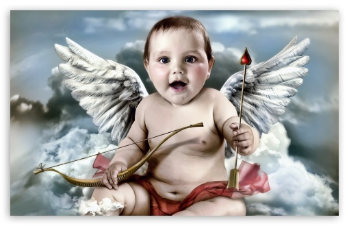 Cute Cupid HD wallpaper for Wide 16:10 5:3 Widescreen WHXGA WQXGA WUXGA WXGA WGA ; HD 16:9 High Definition WQHD QWXGA 1080p 900p 720p QHD nHD ; Standard 4:3 5:4 Fullscreen UXGA XGA SVGA QSXGA SXGA ; iPad 1/2/Mini ; Mobile 4:3 5:3 5:4 - UXGA XGA SVGA WGA QSXGA SXGA ;