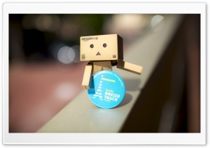 Cute Danbo HD Wide Wallpaper for 4K UHD Widescreen desktop & smartphone