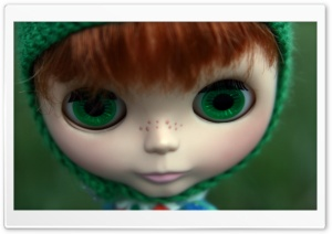 Cute Freckles Doll HD Wide Wallpaper for Widescreen