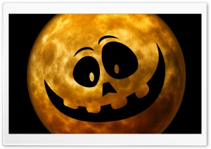 Cute Halloween Background HD Wide Wallpaper for Widescreen
