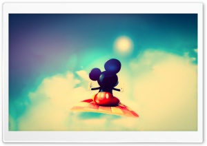 Cute Mickey Mouse HD Wide Wallpaper for Widescreen