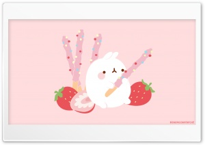 Cute Molang Ultra HD Wallpaper for 4K UHD Widescreen desktop, tablet & smartphone