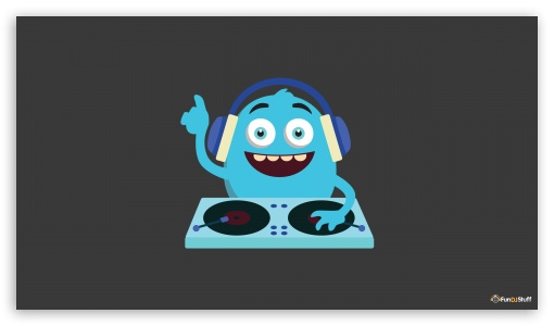 Cute Monster DJ ❤ 4K UHD Wallpaper for 4K UHD 16:9 Ultra High Definition 2160p 1440p 1080p 900p 720p ; Smartphone 5:3 WGA ; Tablet 1:1 ; iPad 1/2/Mini ; Mobile 4:3 5:3 3:2 16:9 - UXGA XGA SVGA WGA DVGA HVGA HQVGA ( Apple PowerBook G4 iPhone 4 3G 3GS iPod Touch ) 2160p 1440p 1080p 900p 720p ;