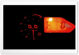 Cute Tachometer HD Wide Wallpaper for Widescreen