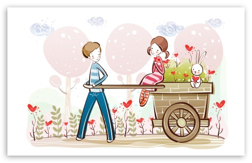 Cute Valentine Couple, Valentine's Day Illustration HD wallpaper for Wide 16:10 5:3 Widescreen WHXGA WQXGA WUXGA WXGA WGA ; HD 16:9 High Definition WQHD QWXGA 1080p 900p 720p QHD nHD ; Standard 4:3 5:4 3:2 Fullscreen UXGA XGA SVGA QSXGA SXGA DVGA HVGA HQVGA devices ( Apple PowerBook G4 iPhone 4 3G 3GS iPod Touch ) ; Tablet 1:1 ; iPad 1/2/Mini ; Mobile 4:3 5:3 3:2 16:9 5:4 - UXGA XGA SVGA WGA DVGA HVGA HQVGA devices ( Apple PowerBook G4 iPhone 4 3G 3GS iPod Touch ) WQHD QWXGA 1080p 900p 720p QHD nHD QSXGA SXGA ;
