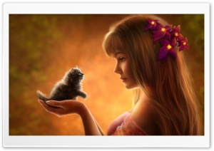 Cutest Kitten HD Wide Wallpaper for Widescreen
