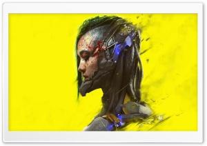 Cyberpunk 2077 Female Ultra HD Wallpaper for 4K UHD Widescreen desktop, tablet & smartphone