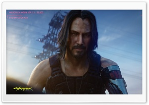 Cyberpunk 2077 Keanu Reeves Video Game 2020 Ultra HD Wallpaper for 4K UHD Widescreen desktop, tablet & smartphone