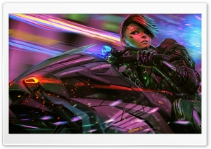 Cyborg Girl Sci-Fi Ultra HD Wallpaper for 4K UHD Widescreen desktop, tablet & smartphone