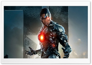 Cyborg in Justice League HD Wide Wallpaper for Widescreen