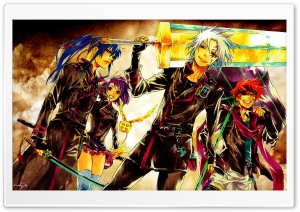 D gray Man HD Wide Wallpaper for Widescreen
