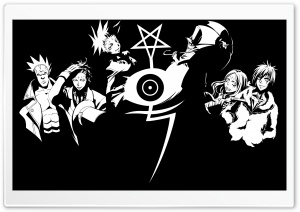 D Gray Man Manga HD Wide Wallpaper for Widescreen