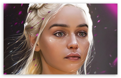 Download Daenerys Game of Thrones Painting ART HD Wallpaper