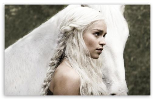 Daenerys Targaryen 4K HD Desktop Wallpaper For • Wide