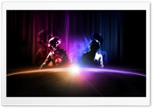 Daft Punk Live HD Wide Wallpaper for Widescreen