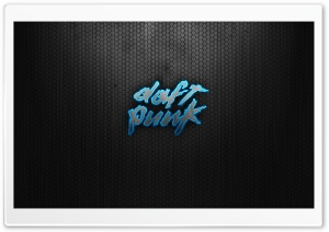 Daft Punk Logo HD Wide Wallpaper for Widescreen