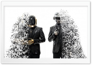Daft Punk Splashed HD Wide Wallpaper for 4K UHD Widescreen desktop & smartphone