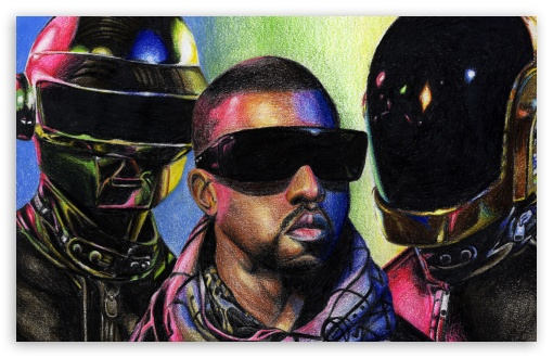 Daft Punk vs. Kanye West HD wallpaper for Wide 16:10 5:3 Widescreen WHXGA WQXGA WUXGA WXGA WGA ; HD 16:9 High Definition WQHD QWXGA 1080p 900p 720p QHD nHD ; Standard 4:3 5:4 3:2 Fullscreen UXGA XGA SVGA QSXGA SXGA DVGA HVGA HQVGA devices ( Apple PowerBook G4 iPhone 4 3G 3GS iPod Touch ) ; iPad 1/2/Mini ; Mobile 4:3 5:3 3:2 16:9 5:4 - UXGA XGA SVGA WGA DVGA HVGA HQVGA devices ( Apple PowerBook G4 iPhone 4 3G 3GS iPod Touch ) WQHD QWXGA 1080p 900p 720p QHD nHD QSXGA SXGA ;