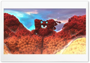 Daily Fractal Wallpaper no3 - Coral HD Wide Wallpaper for Widescreen
