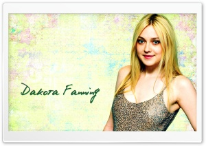 Dakota Fanning HD Wide Wallpaper for Widescreen