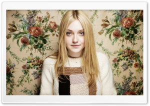 Dakota Fanning HD Wide Wallpaper for 4K UHD Widescreen desktop & smartphone