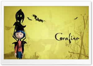 Dakota Fanning In Coraline I HD Wide Wallpaper for 4K UHD Widescreen desktop & smartphone